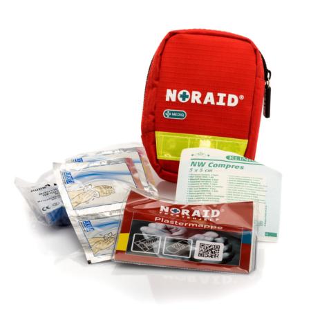 Noraid liten førstehjelpspute m/innhold