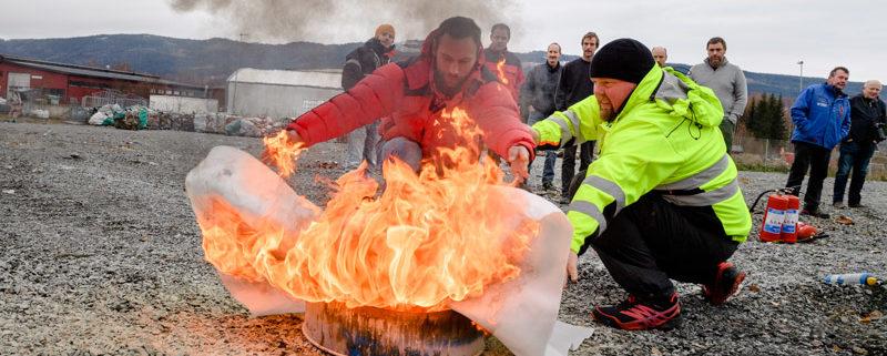 Brannvernkurs - kurs i varme arbeider