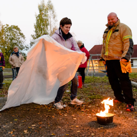 Førstehjelps- og brannvernkurs i barnehage