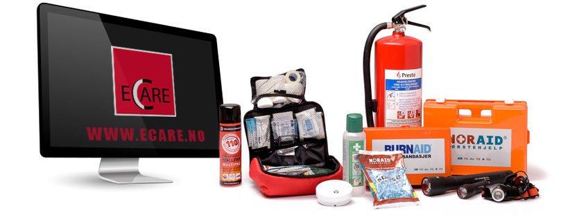 Nettbutikk brannvern og førstehjelp